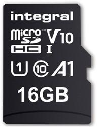 "GEHEUGENKAART INTEGRAL MICRO V10 16GB -GEHEUGENKAARTEN INMSDH16G-100V10 LAPTOPTAS CASE LOGIC SHUTTLE 13"" ZW"