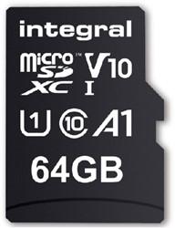 GEHEUGENKAART INTEGRAL MICRO V10 64GB -GEHEUGENKAARTEN INMSDX64G-100V10 PALMTOPCOMPUTE