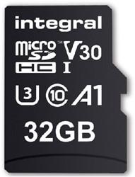 "GEHEUGENKAART INTEGRAL MICRO V30 32GB -GEHEUGENKAARTEN INMSDH32G-100/70V30 NOTEBOOKTAS CASE LOGIC 13"" NYLON ZW"