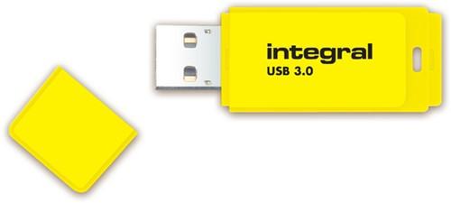 USB-STICK INTEGRAL 64GB 3.0 NEON GEEL -USB STICKS INFD64GBNEONYL3.0-3
