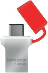 USB-STICK INTEGRAL 128GB 3.0 FUSION C -USB STICKS INFD128GBFUS3.0-C