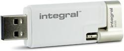 USB-STICK INTEGRAL 64GB 3.0 I-SHUTTLE -USB STICKS INFD64GBISHUTTLE PALMTOPCOMPUTE