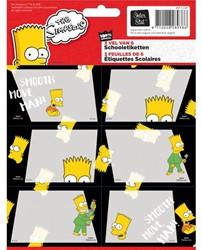SCHOOLETIKET SIMPSONS -SCHOOL ARTIKELEN 8712048291563