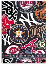 SCHRIFT MLB TEAMS A4 LIJN -SCHOOL ARTIKELEN 1655250