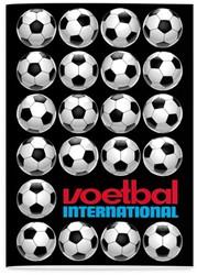 SCHRIFT VOETBAL INTERNATIONAL A4 LIJN -SCHOOL ARTIKELEN 1661250
