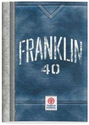 SCHRIFT FRANKLIN & MARSHALL BOYS A4 -SCHOOL ARTIKELEN 162FMB210B LIJN