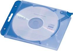CD OPBERGMAP QUICKFLIP COMPLEET BLAUW -DATAMEDIA OPBERGMIDDELEN 526906 CD-OPBERGMIDDEL