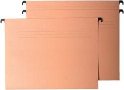 HANGMAP QUANTORE A4 V-BODEM CHAMOIS -HUISMERK MAPPEN 8353000-12062