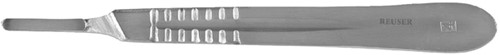 SCALPELMES REUSER HOUDER SC-4 -MESSEN SC-4 Messen