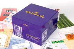 WENSKAARTENBOX HALLMARK MET INHOUD -WENSKAARTEN BB01001 BB01001