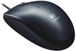 MUIS LOGITECH OPTICAL M100 ZWART -MUIZEN LOG-910-005003 ZWART