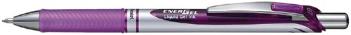 GELSCHRIJVER PENTEL ENERGEL BL77 -GELPENNEN NAVULBAAR 014557 DRUKKNOP 0.4MM VI
