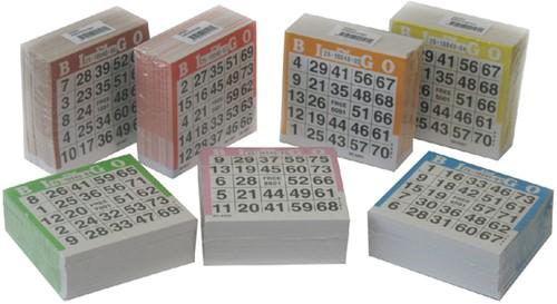 BINGOBLOK 105MMX105MM 25VEL -SPEELKAARTEN 100014