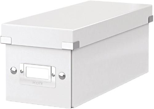CD-BOX LEITZ CLICK&STORE 143X136X352 -DATAMEDIA OPBERGMIDDELEN 60410001 WIT