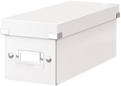 CD-BOX LEITZ CLICK&STORE 127X124X320 -DATAMEDIA OPBERGMIDDELEN 60410001 WIT