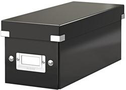 CD-BOX LEITZ CLICK&STORE 127X124X320 -DATAMEDIA OPBERGMIDDELEN 60410095 ZWART