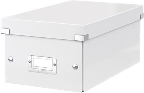 DVD-BOX LEITZ CLICK&STORE 206X147X35 -DATAMEDIA OPBERGMIDDELEN 60420001 WIT
