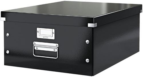 OPBERGBOX LEITZ CLICK&STORE -OPBERGBOXEN 60450095 350X188X450MM ZWART