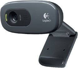 WEBCAM LOGITECH C270 HD 720P ZWART -COMPUTER INTERACTIEF TOEBEH. LOG-960-001063 MUIZEN