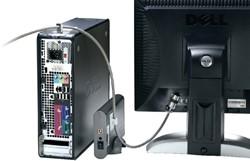 BEVEILIGINGSSET KENSINGTON DESKTOP + PC -PC BEVEILIGING K64615EU COMPUTERTAFELS