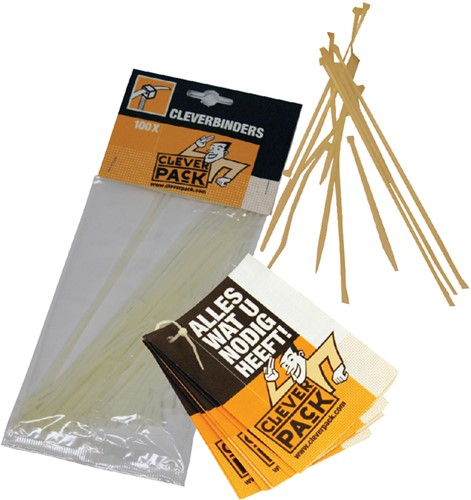 Inbindstrip cleverpack cleverbinder -K30451 530451 10cm + 20cm