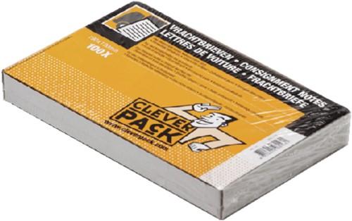 VRACHTBRIEF CLEVERPACK BLANCO 19X12CM -PAKLIJSTENVELOPPEN 530355 3V
