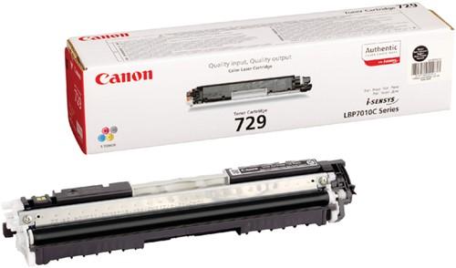 TONERCARTRIDGE CANON 729 1.2K ZWART -CANON TONER 1732219