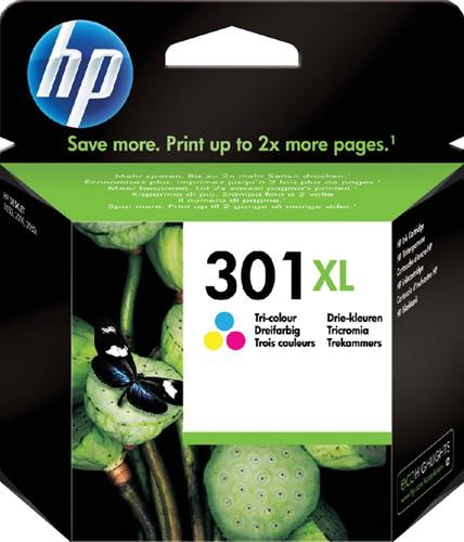 INKCARTRIDGE HP 301XL CH564EE HC KL -HP INKJET 1593427 Tri-colour hc