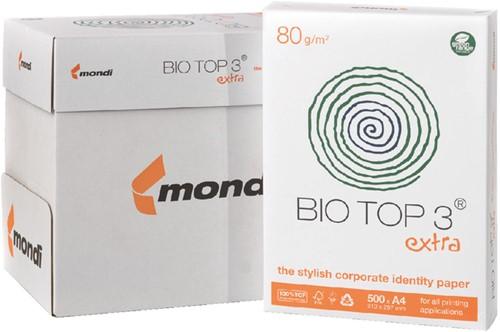 Kopieerpapier biotop 3 a4 80gr naturel -K8008658 88008658 Iets gelig