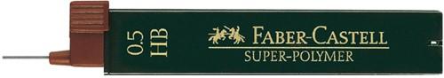 POTLOODSTIFT FABER CASTELL 0.5MM HB -POTLOODSTIFTEN FC-120500 12st