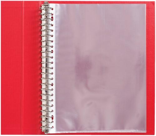 SHOWTAS QUANTORE A4 23RINGS PP 0.05 -HUISMERK SOFTPLASTICS 100811564 GLAD