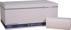 HANDDOEK PRIMESOURCE ZIGZAG 2LAAGS WIT -SANITAIR PAPIERWAREN 60232 20X200ST
