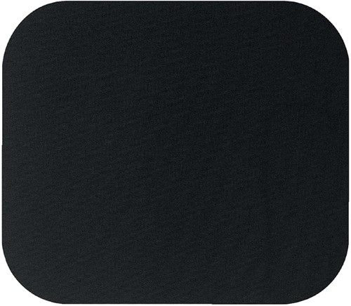 Muismat fellowes 224x186x6mm zwart -M9704 29704