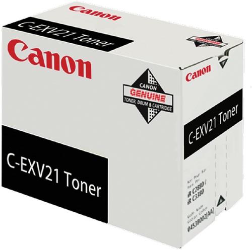 TONERCARTRIDGE CANON C-EXV 21 26K ZWART -CANON TONER 120008440085