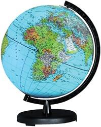 GLOBE COLUMBUS TERRA IMPERIAL RONDE -GLOBES 501282 ZWARTE VOET