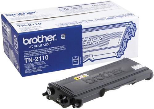 TONER BROTHER TN-2110 1.5K ZWART -BROTHER TONER TN2110 Toner brother tn-2110