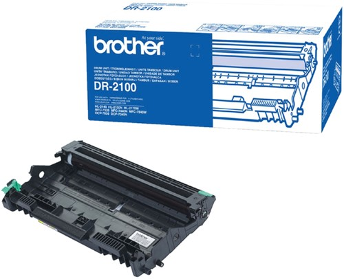 DRUM BROTHER DR-2100 ZWART -BROTHER DRUM FUSER ETC. DR2100 Drum brother dr-2100