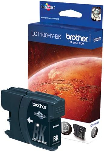 INKCARTRIDGE BROTHER LC-1100 HC ZWART -BROTHER INKJET LC1100HYBK