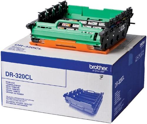 DRUM BROTHER DR-320CL ZWART 3 KLEUREN -BROTHER DRUM FUSER ETC. DR320CL