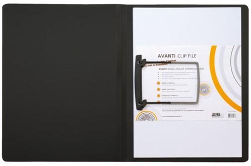 CLIPMAP AVANTI A4 30MM ZWART -MAPPEN MET HECHTMECHANIEK 1401019