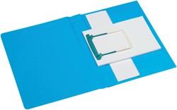 CLIPEXMAP PLUS JALEMA SECOLOR A4 25MM -MAPPEN MET HECHTMECHANIEK 3106102 BLAUW