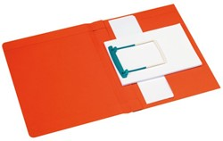 CLIPEXMAP PLUS JALEMA SECOLOR A4 25MM -MAPPEN MET HECHTMECHANIEK 3106115 ROOD