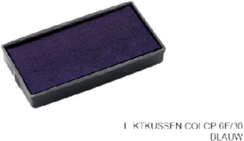 INKTKUSSEN COLOP 6E/30 BLAUW -STEMPELKUSSENS 107176 Inktkussen colop 6e/30 blauw