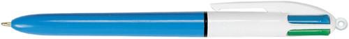 BALPEN BIC 4KLEUREN M -BALPENNEN NAVULBAAR 801867 Balpennenmetv