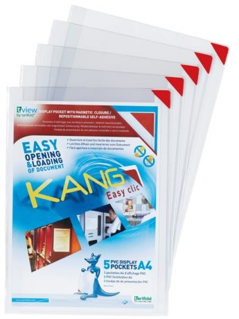 PRESENTEERHOES KANG EASY CLIC SIGNAGE -ZICHTFRAMES 194770 A4