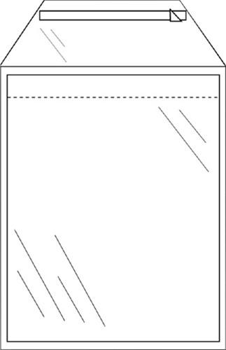 ENVELOP CLEVERPACK AKTE C5 165X220 ZK -AKTE-ENVELOPPEN 530423 KLEP 50ST TR
