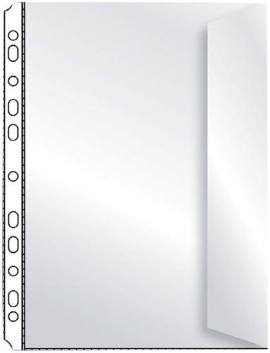 SHOWTAS ELBA A4 PP MET ENVELOPSLUITING -SHOWTASSEN 100460999 Showtas elba a4 pp met klep spiegelvrij