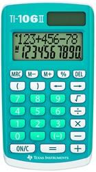 REKENMACHINE TEXAS TI-106II -ZAKREKENMACHINES 106II/FBL/4E6