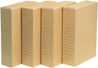 ARCHIEFDOOS QUANTORE A4 230X80X320MM -HUISMERK OPBERGMIDDELEN 7212183 ARCHIEFDOOS OFFICE STORE A4 230X80X320MM-2