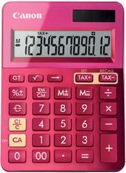 REKENMACHINE CANON LS-123K ROZE -BUREAUREKENMACHINES 9490B003AA BUREAUREKENMAC